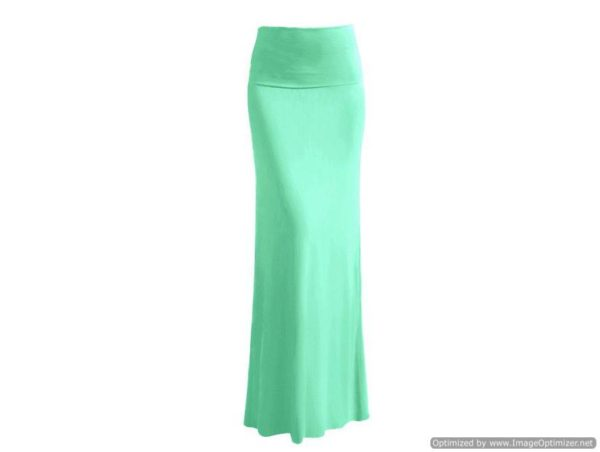 Vibrant Mint Skirt