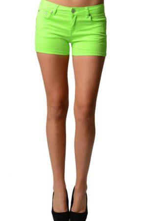 Vibrant Green Neon Shorts