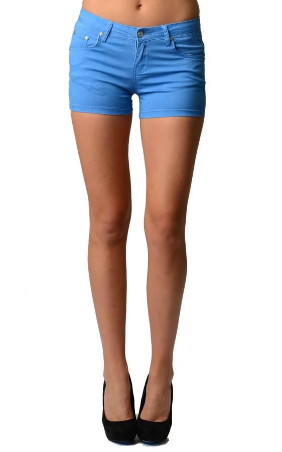 Trendy Blue Neon Shorts