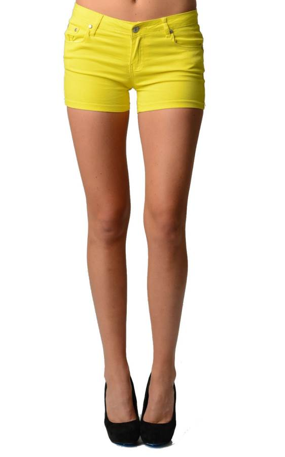 Bright Yellow Neon Shorts