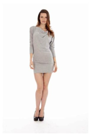 Light Grey Short Dress