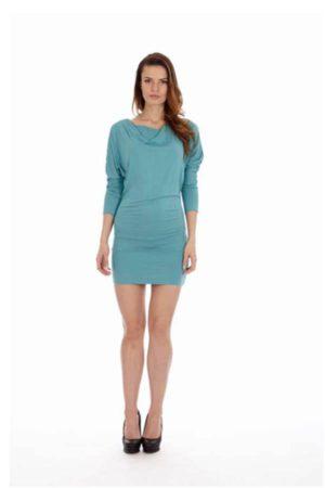 Sea Teal Short Dress