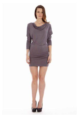Solid Grey Dress