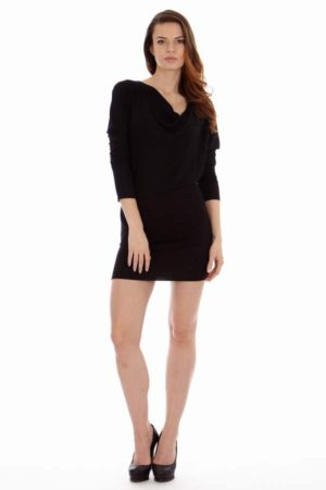 Hourglass Shape Black Dress