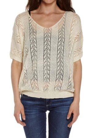 Cream Knited Pullover