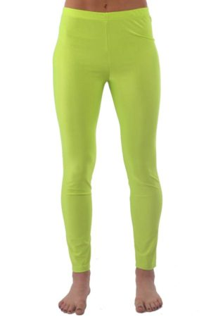 Neon Yellow Tight Yoga Pants