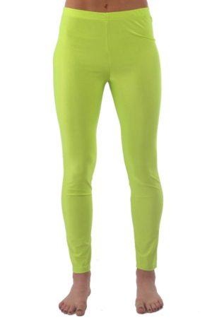 Neon Yellow Tight Yoga Pants