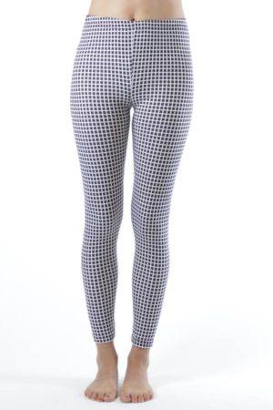 2D Geometric Ankle Leggings