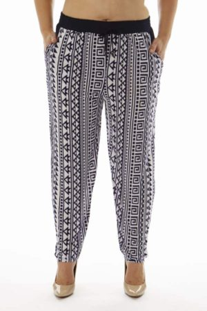 Wholesale Tribal Print Plus Size Soft Pants (Assorted Bundle 1X-2X-3X)