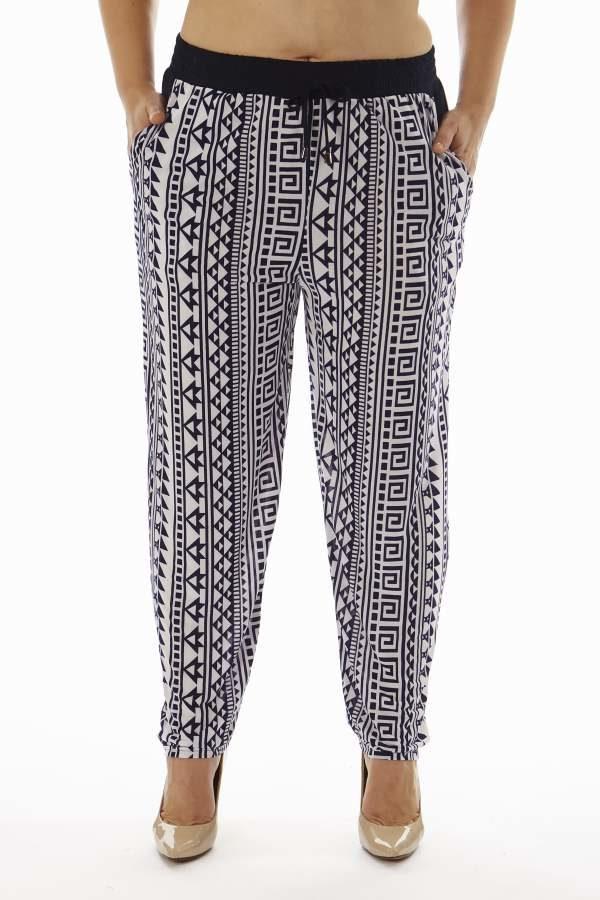 Wholesale Tribal Print Plus Size Soft Pants (Assorted Bundle 1X-2X-3X)