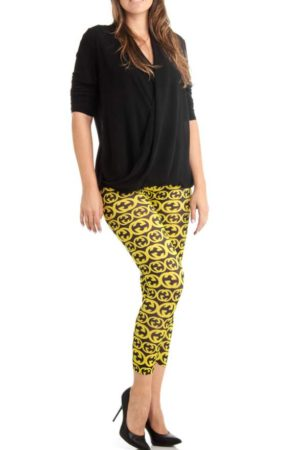 Sexy GoGo Plus Size Ankle Leggings