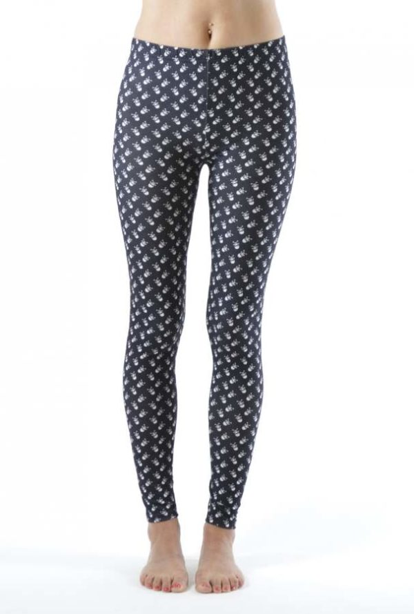 Wholesale Skull and CrossBones Plus Size Ankle Leggings (Assorted Bundle 1X-2X-3X)