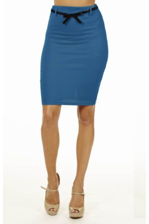 Jade High Pencil Skirt