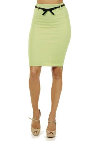 Mint High Pencil Skirt