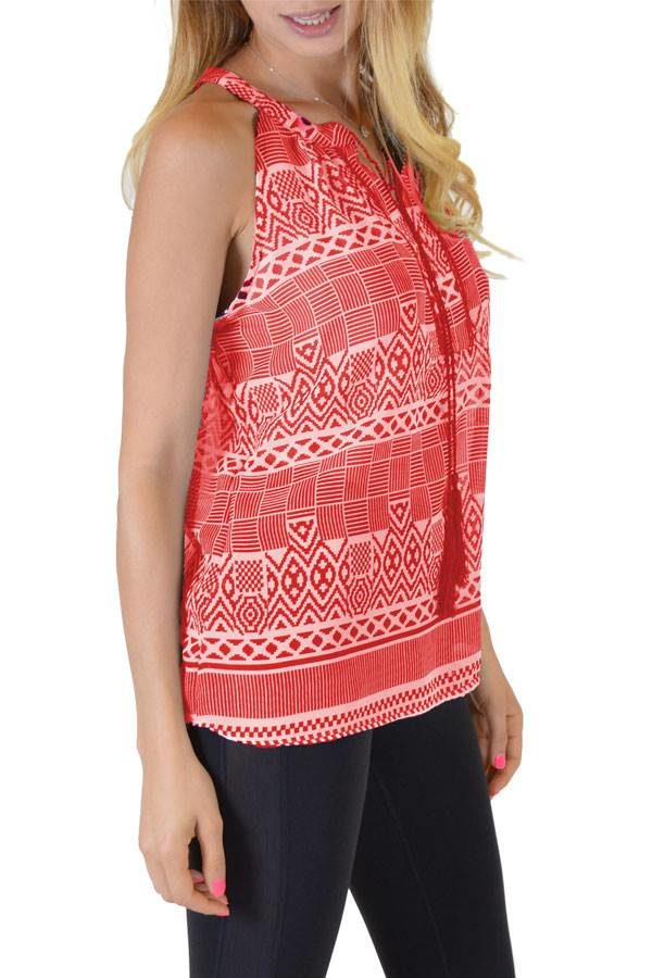 Red Anil Tank Top