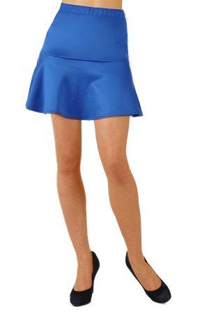 Royal Blue Skater Skirt