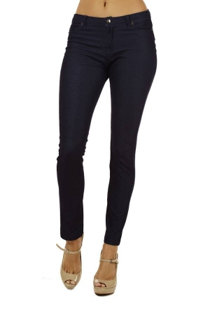 Indigo 5 pocket skinny pants