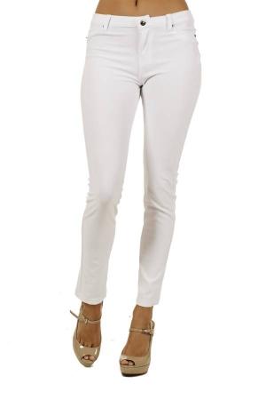 White 5 pocket skinny pants