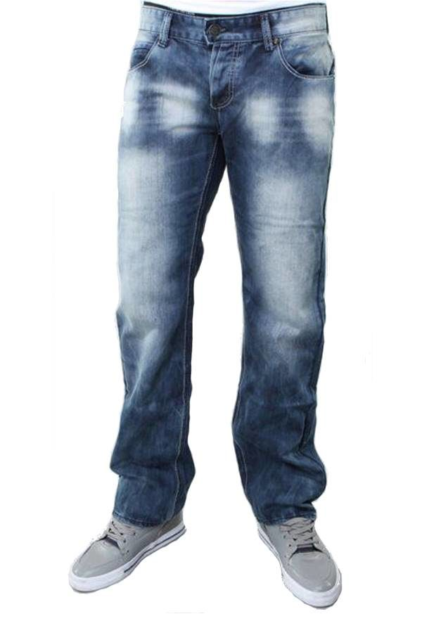 premium blue denim boot cut jeans