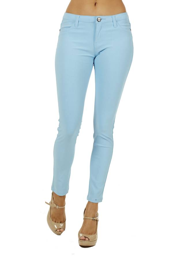 Mint 5 Pocket Skinny Pants