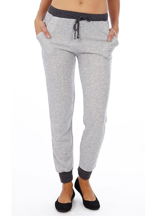 Grey Heather French Terry Joggers
