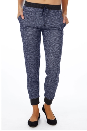 Navy Heather French Terry Joggers