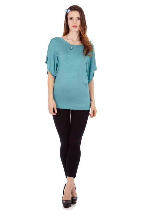 Sea Flowing Angel Tunic Blouse