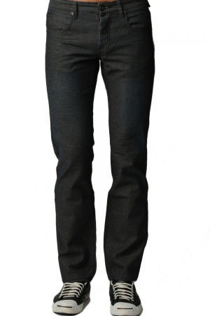 Premium Black Matt Denim Jeans