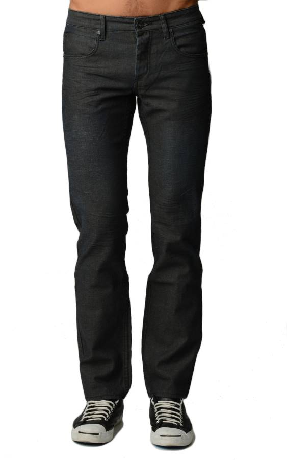 Premium Black Matt Denim Jeans
