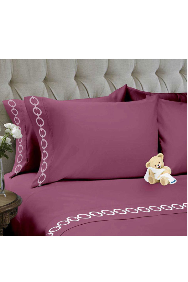 Snuggle 4 Pieces Chain Sheet Sets