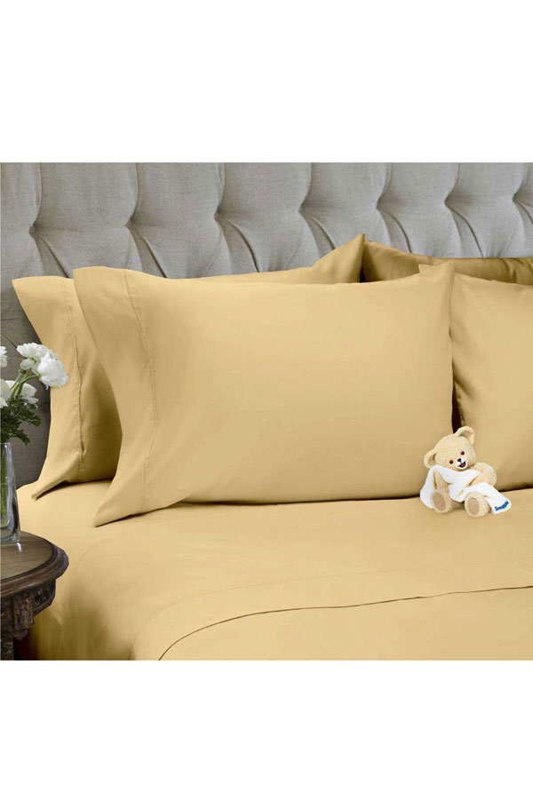Snuggle 4PC Solid Sheet Set