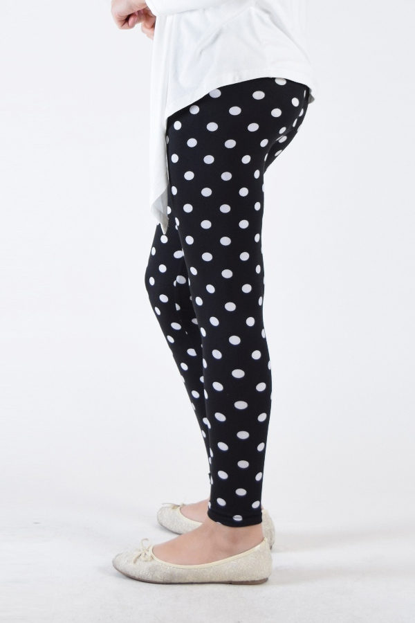 Polka Dot Girls Leggings