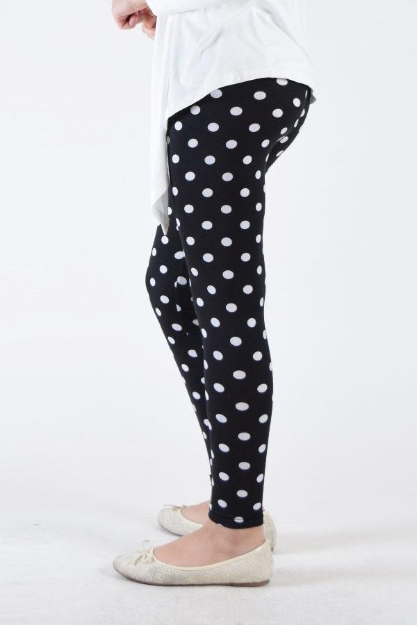 Polka Dot Girls Leggings