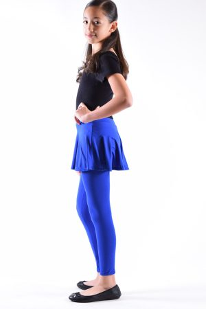 Girls Royal Skirt Leggings