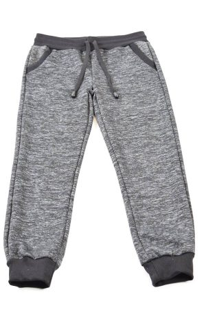 Light Grey Dark Grey Heather Joggers