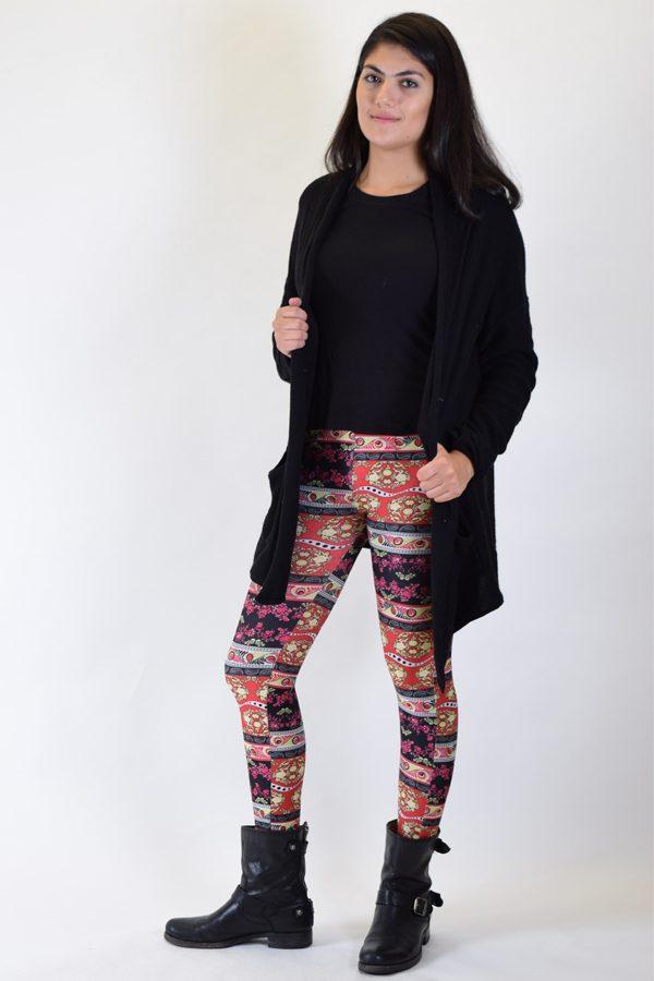 Boho Style Print Leggings