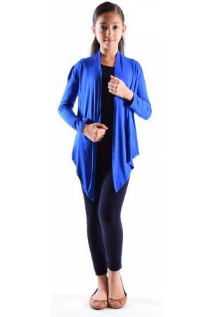 Girls Royal Blue Cardigan Sweater