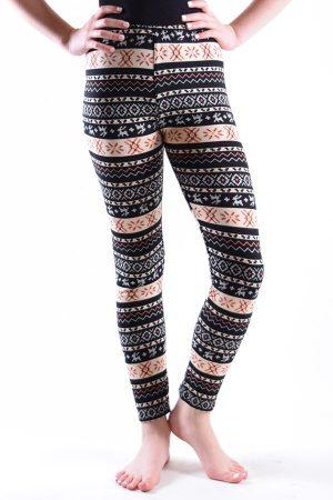 Girls Dinamit Aztec Print Leggings