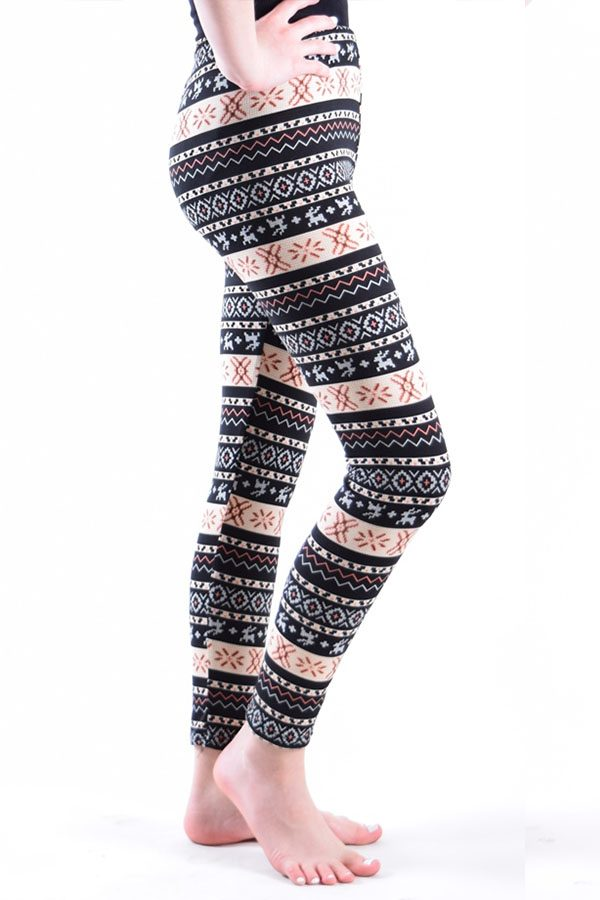 Girls Dinamit Aztec Print Leggings