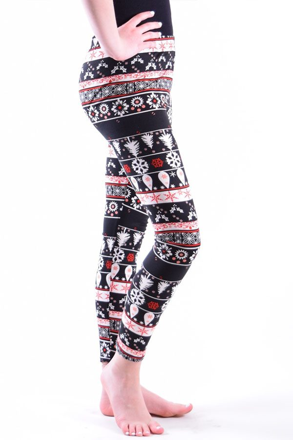 Girls Fun Print Ankle Leggings