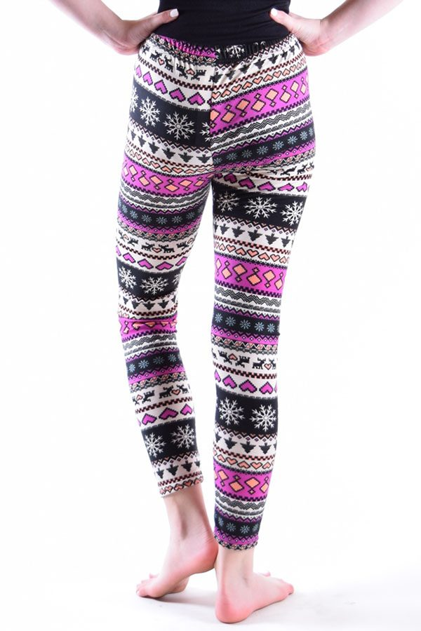 Girls Tribal Print Leggings