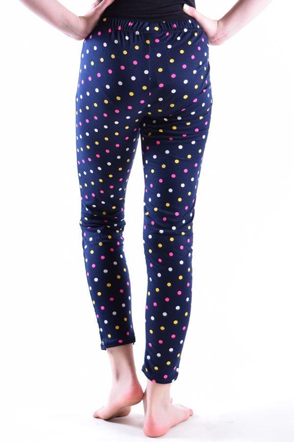 Polka Dot Print Navy Leggings